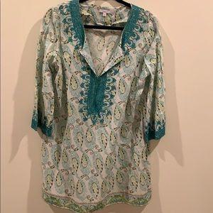 Calypso beach dress or coverup